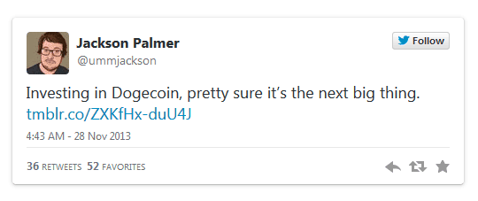 palmer dogecoin tweet next big thing - What is Dogecoin (DOGE)? A Beginner's Guide